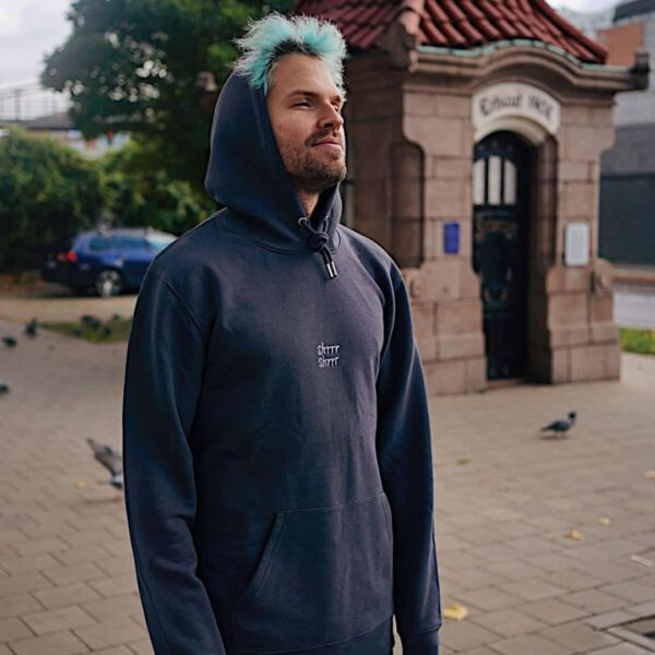 SKRRR SKRRR hoodie anthrazit
