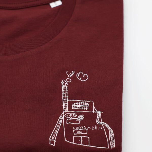 classic shirt - burgundy