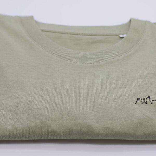 boxy shirt - sage